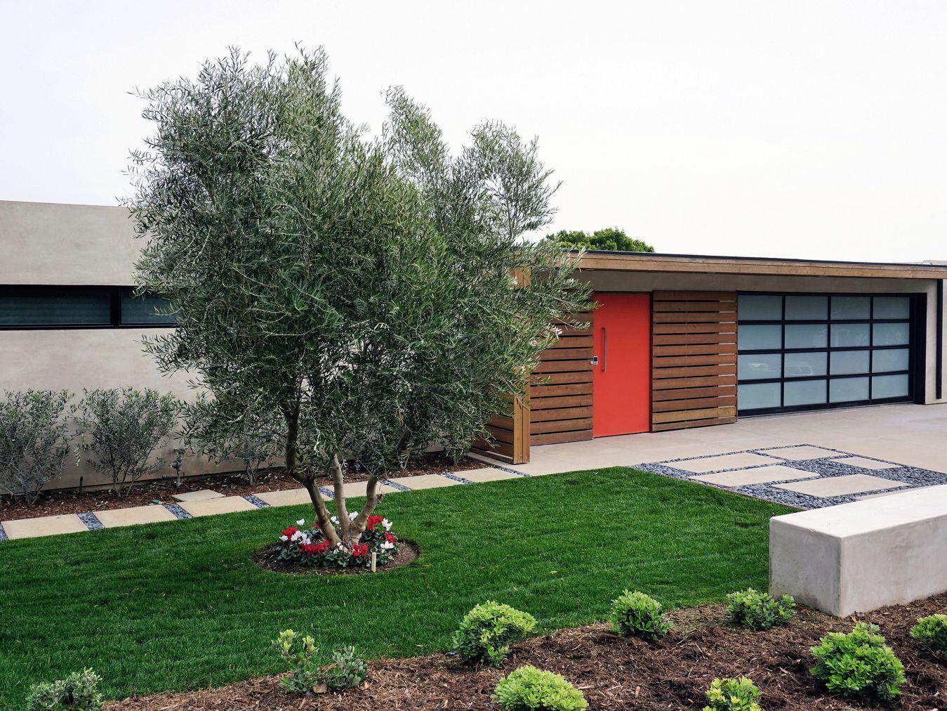 garden designs for midcentury modern homes