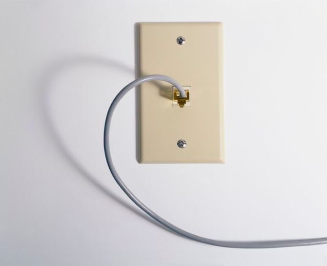 how to wire a telephone jack