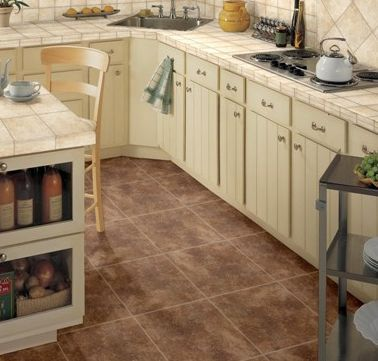 kitchen floor tiles that are classic