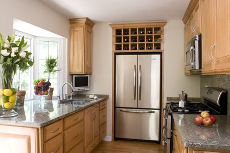 A Small House Tour  Smart Small Kitchen Design Ideas A functional and stylish 8 by 8 foot kitchen