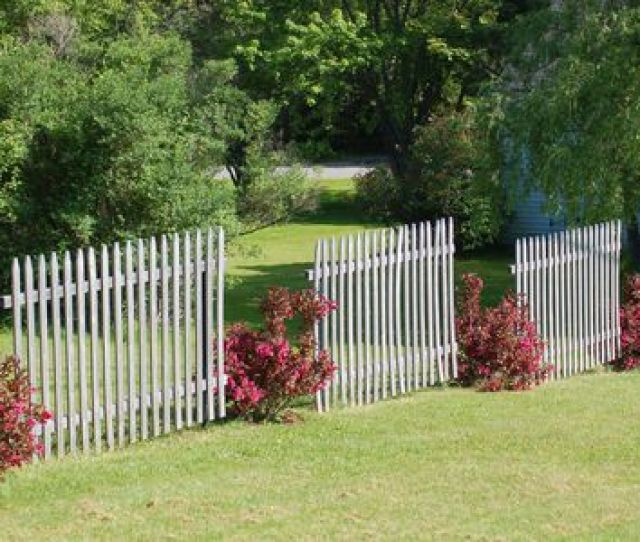 Breaking Up A Fence With Landscaping