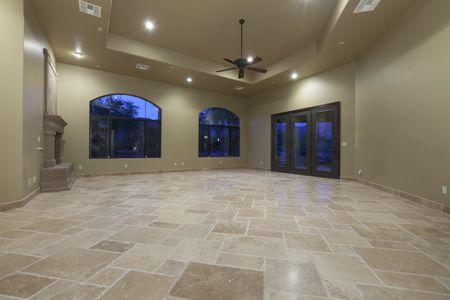 how to clean travertine stone flooring