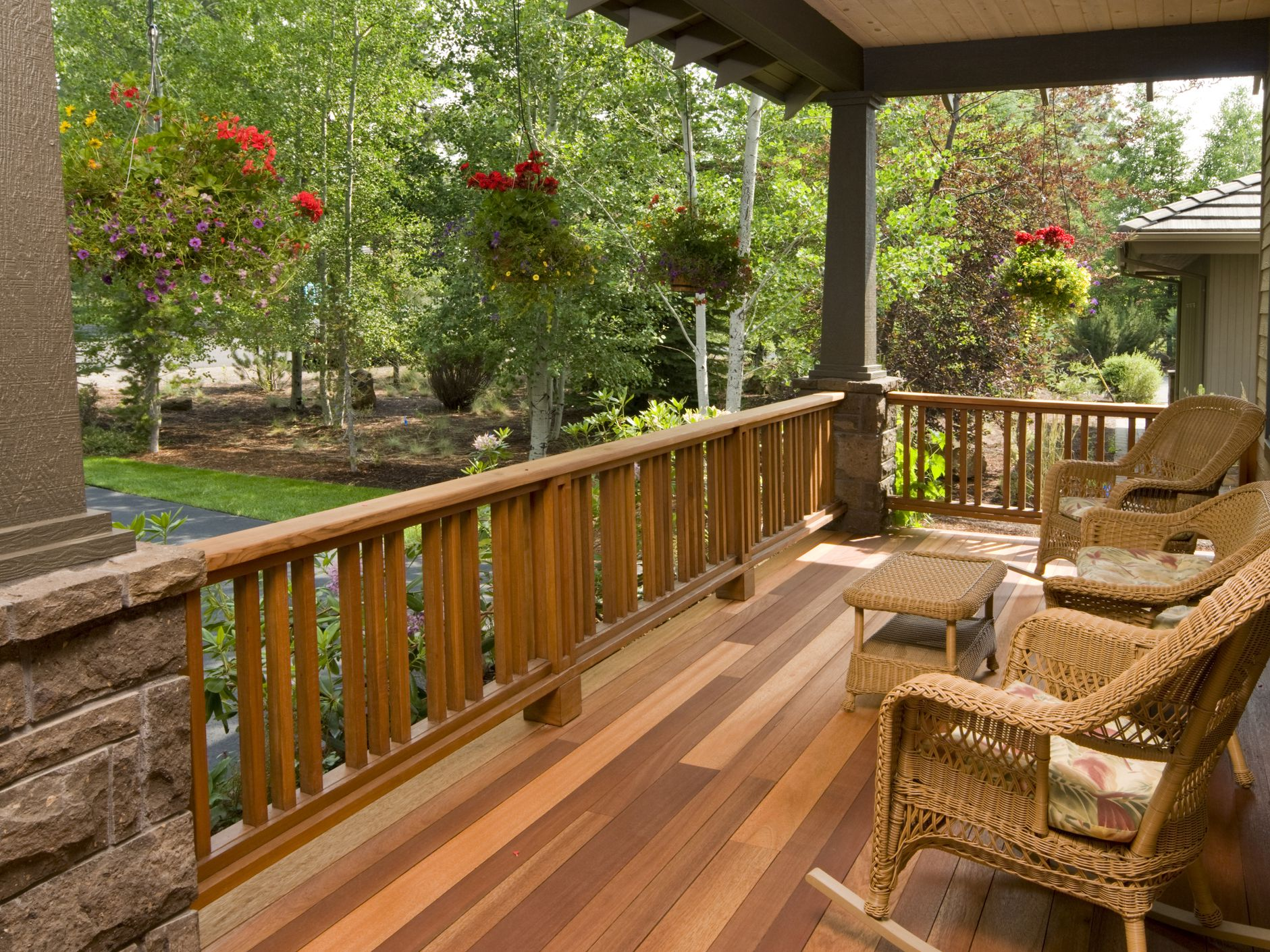 wood decks and composite decks
