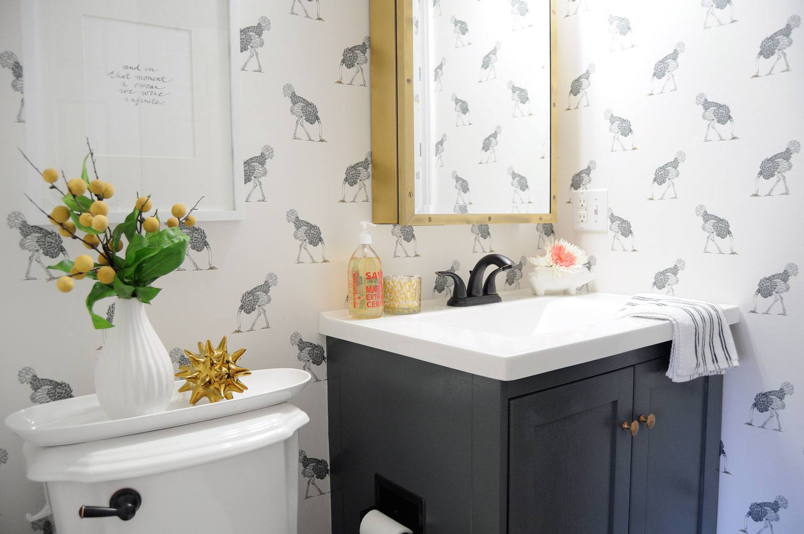 7 tiny bathrooms brimming with stylish