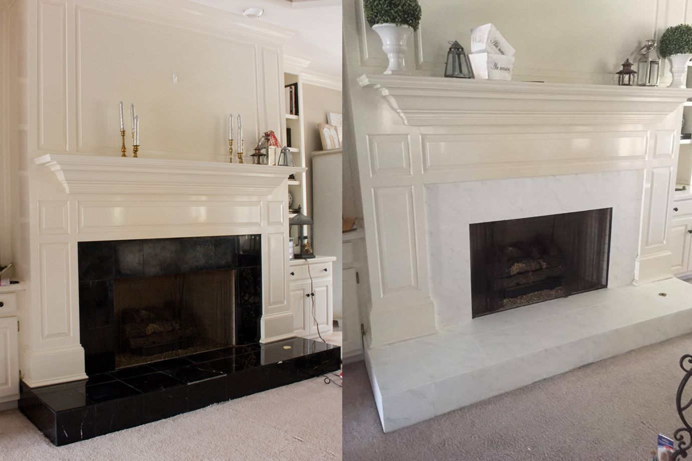 23 marble fireplaces for every