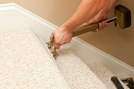How To Install Carpet On Stairs | Loose Carpet On Stairs | Runner | Fixing | Stair Treads | Stair Nosing | Laminate Flooring