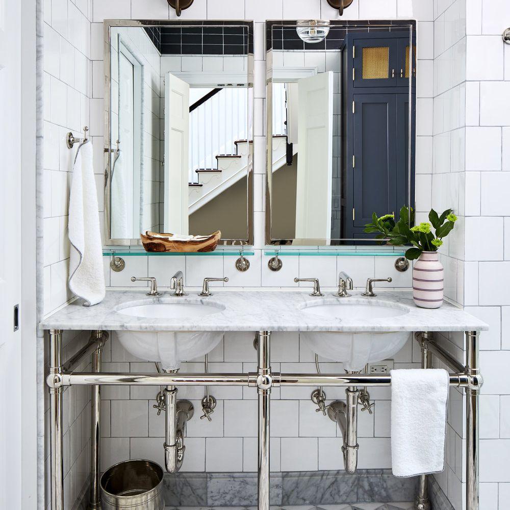 art deco bathrooms that make a chic