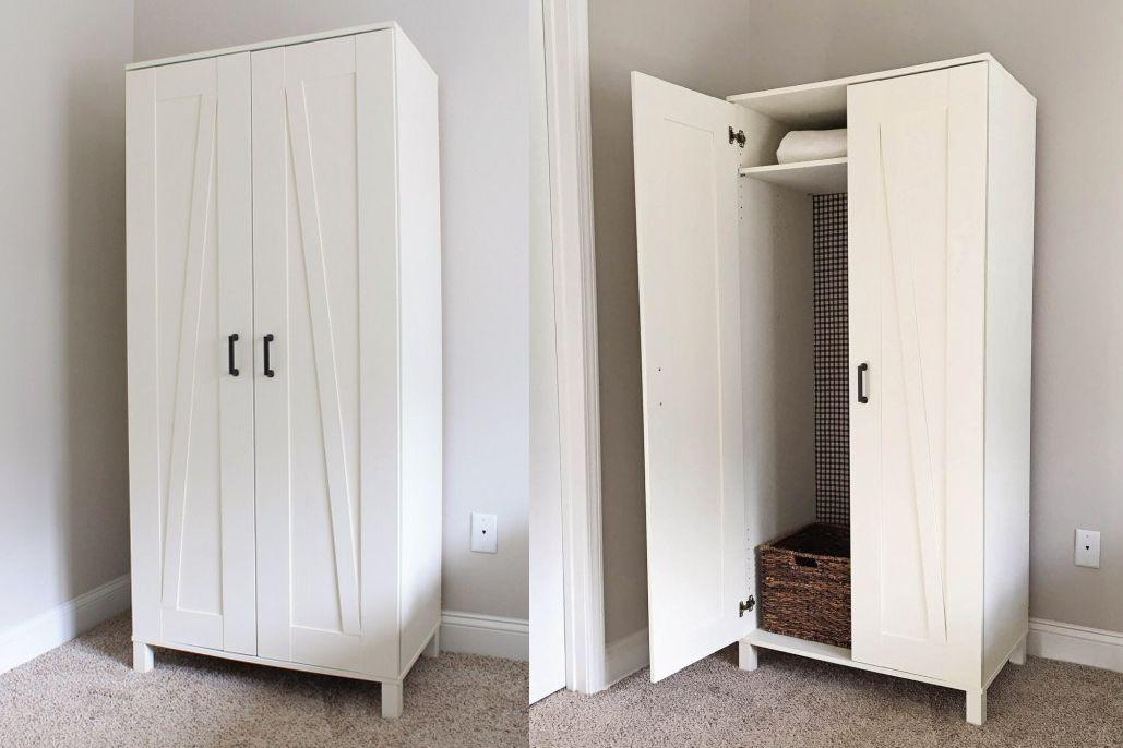 21 Best Ikea Storage Hacks For Small Bedrooms