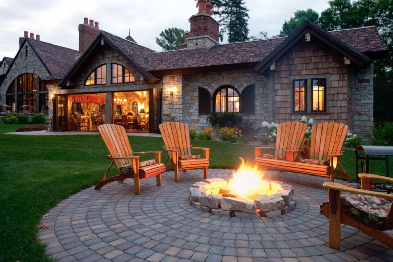 25 Great Patio Paver Design Ideas | Paver Patio Steps Designs | Retaining Wall Pergola | Landscaping | Building | Easy Diy | Stair
