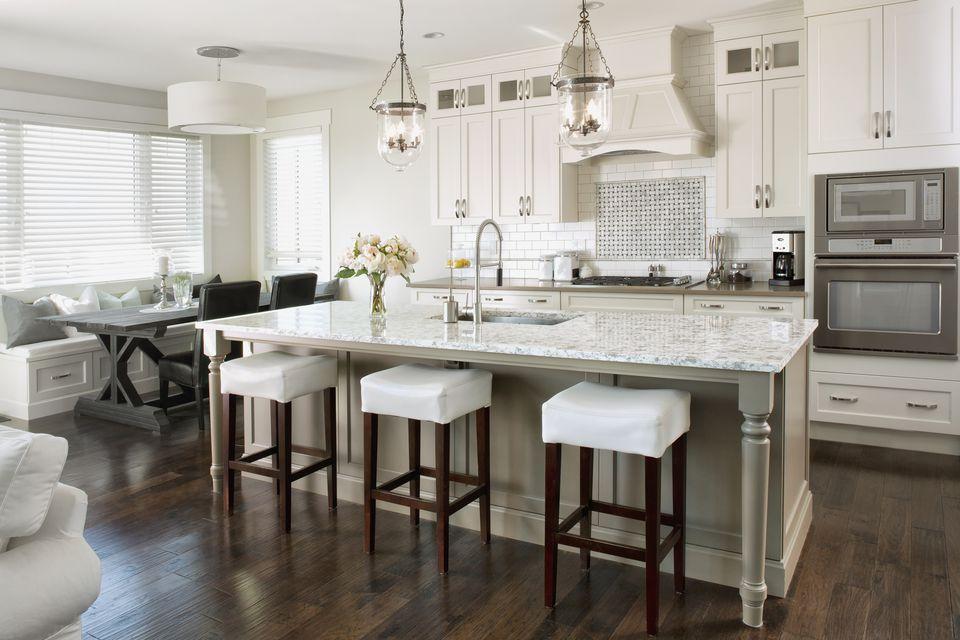 High End White Kitchens
