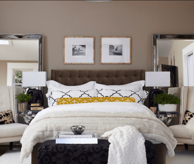 tips for brown bedroom inspiration