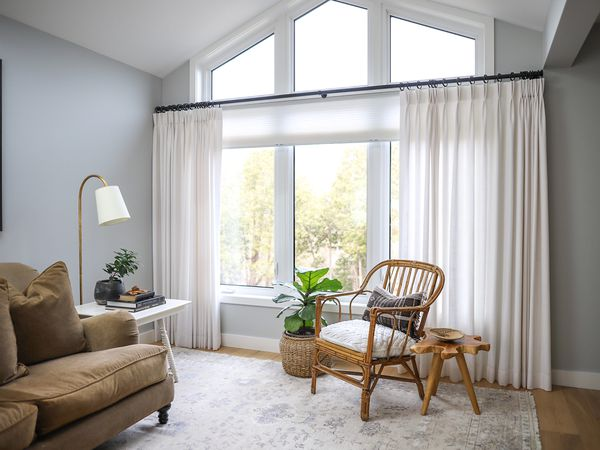 dining room with curtains or drapes