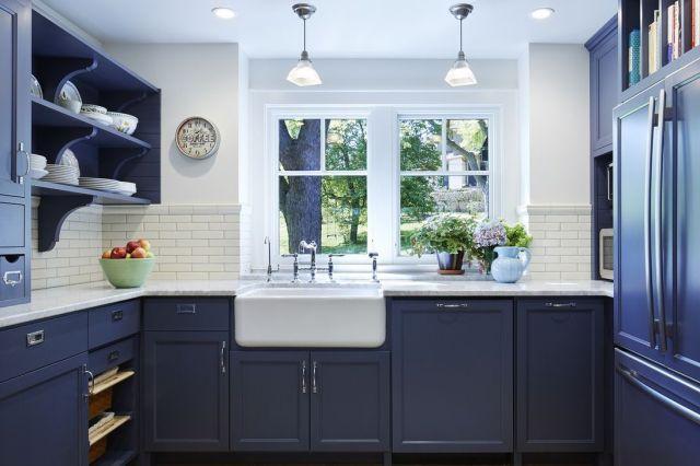 Beautiful Blue Kitchen Cabinet Ideas