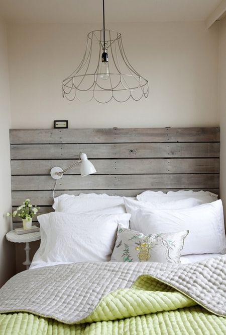 creative and stylish wooden headboard ideas
