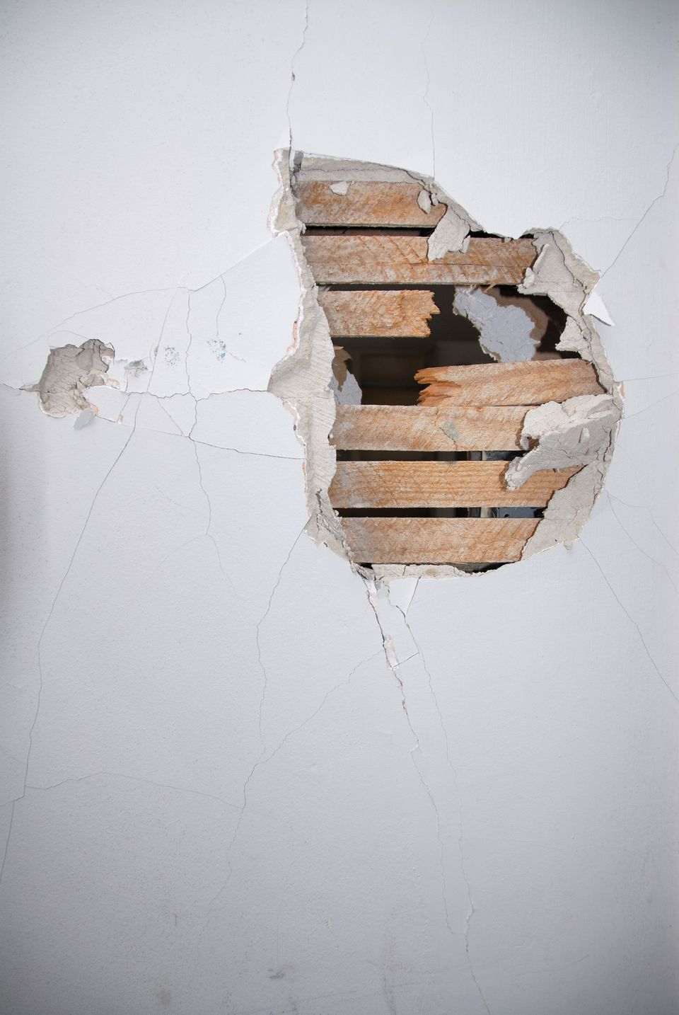 How To Fix Small Holes In Drywall