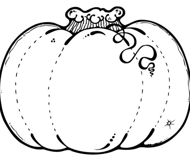 Free Pumpkin Coloring Pages For Kids