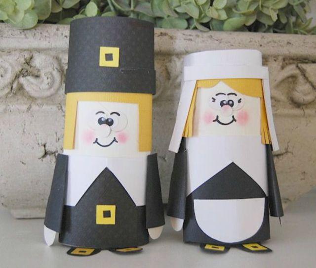Pilgrim Crafts For Thanksgiving