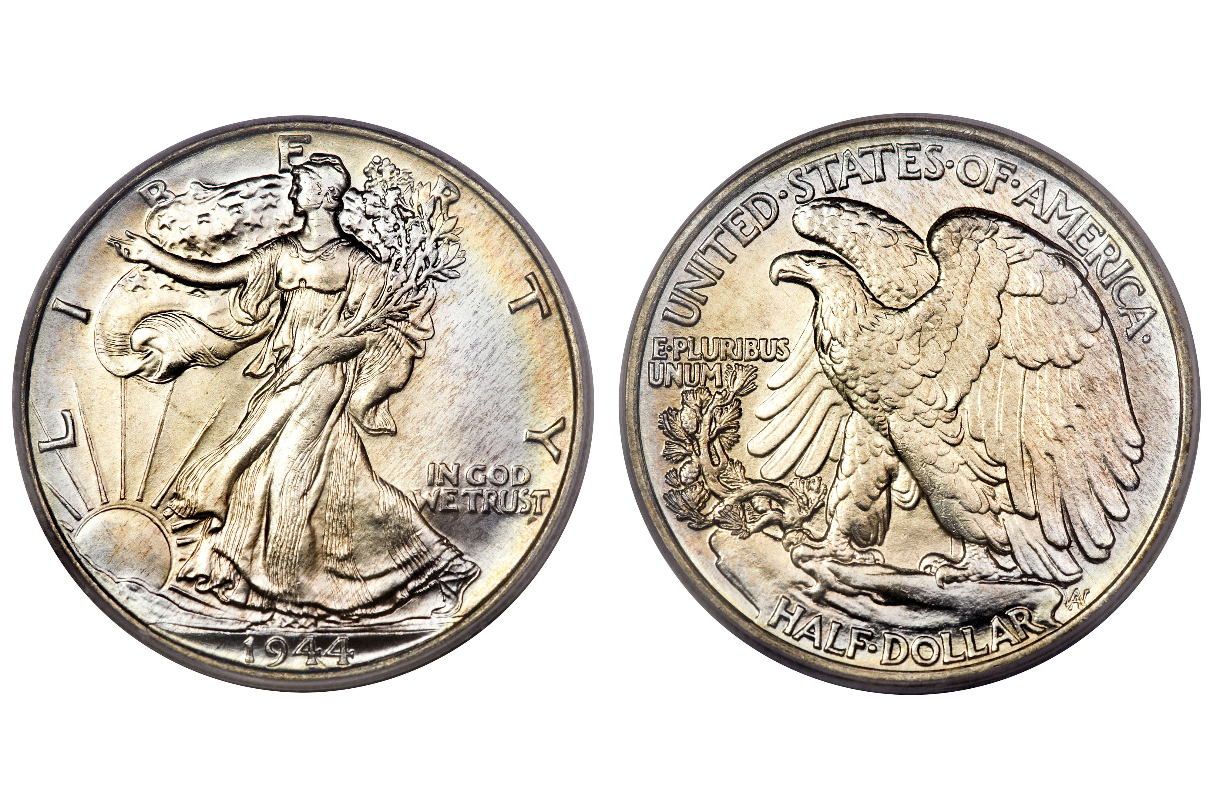Walking Liberty Half Dollar Values And Prices