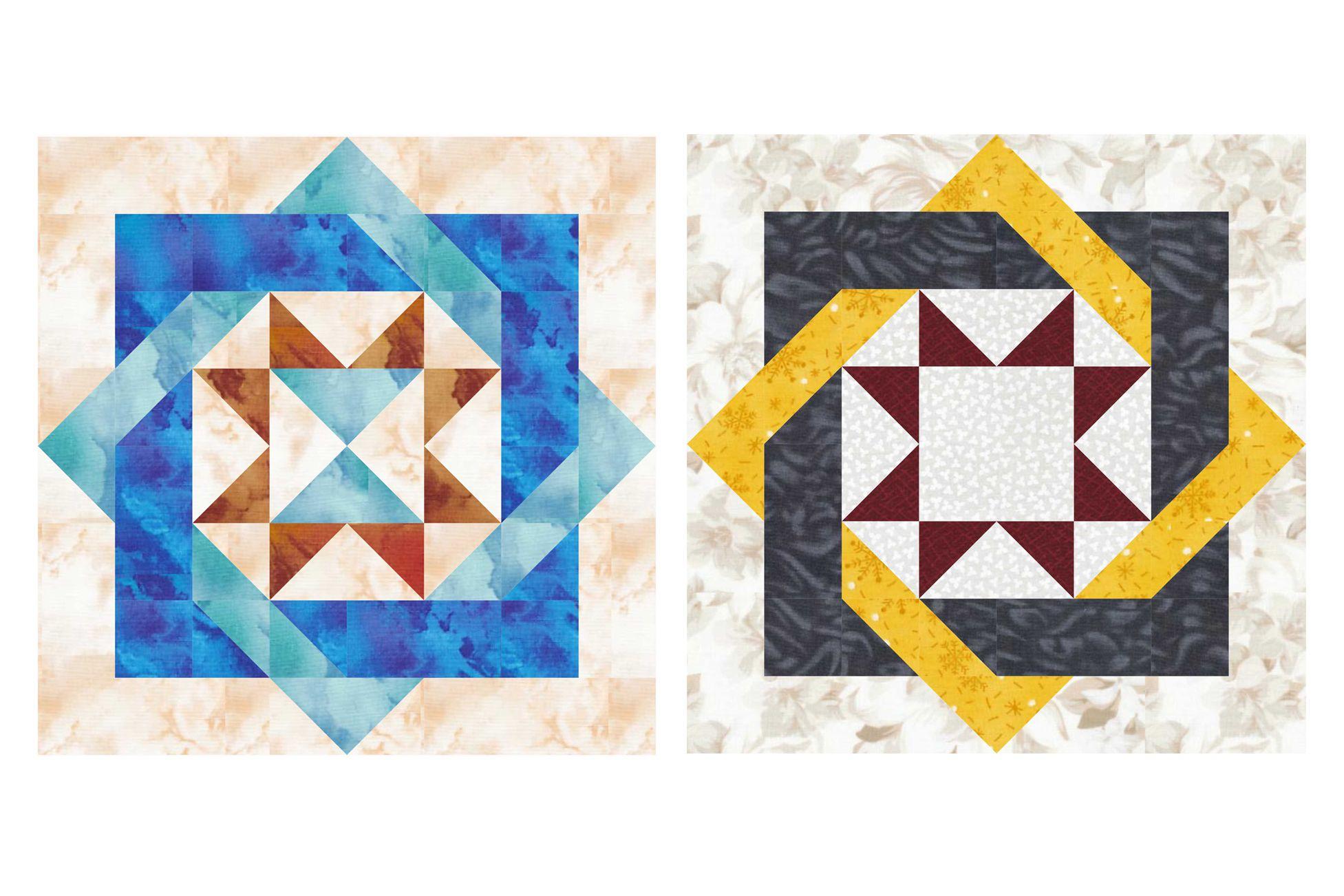 Free 12 Inch Patchwork Quilt Block Patterns