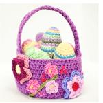 10 Free Crochet Basket Patterns