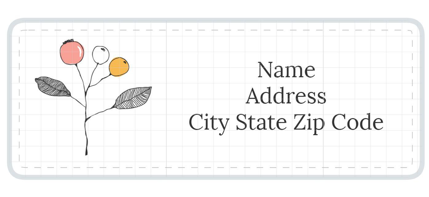 Free Stylish Address Label Templates