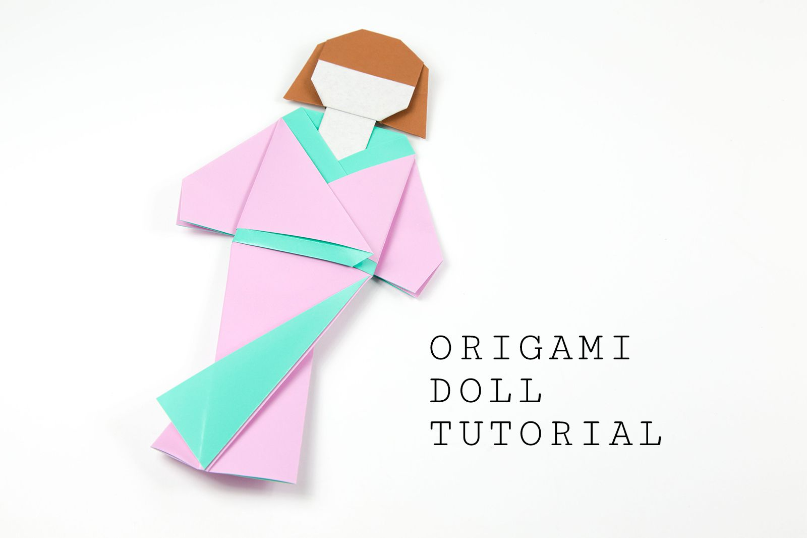 Japanese Origami Doll Tutorial