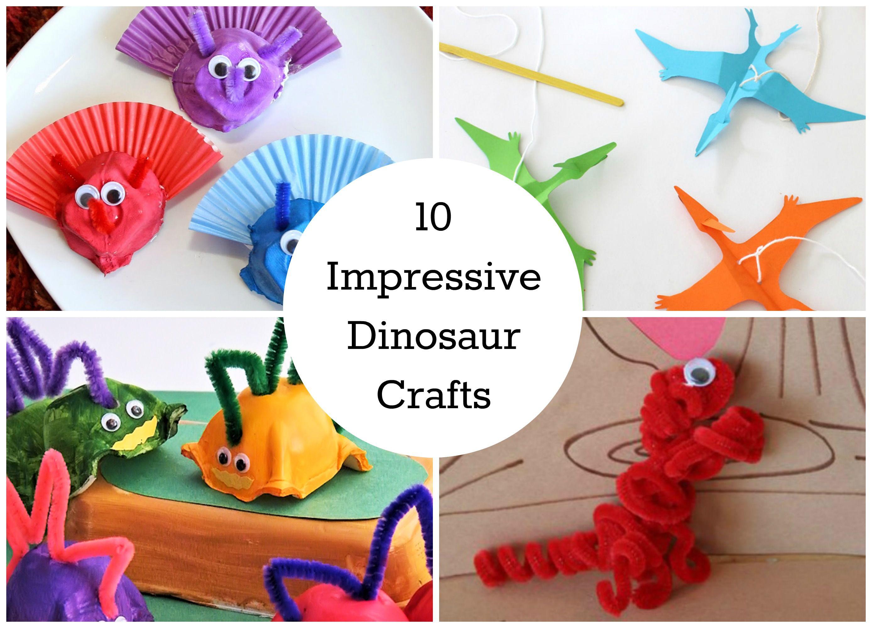 10 Diy Dinosaur Crafts Your Kids Will Love