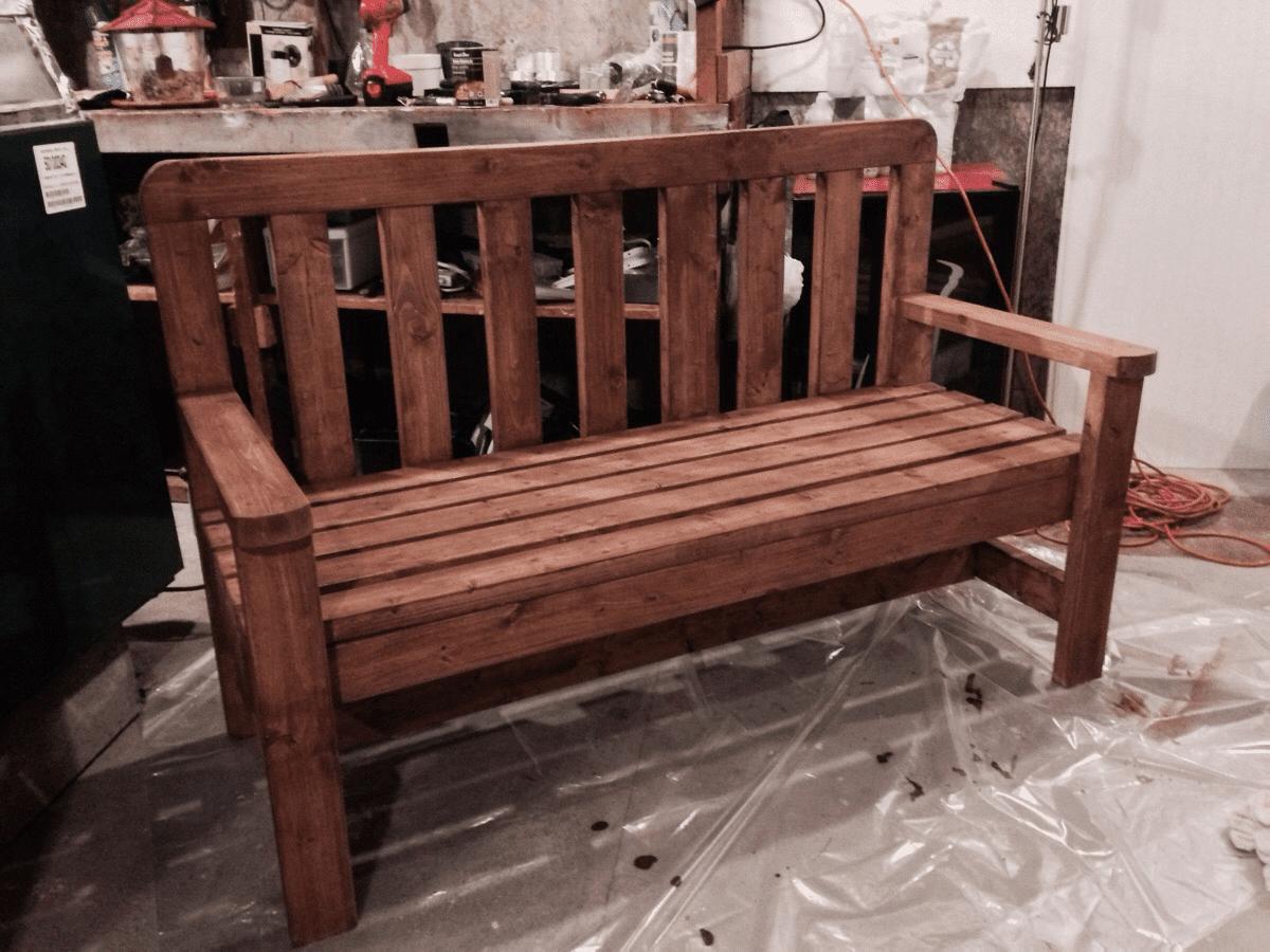 14 free bench plans for the beginner