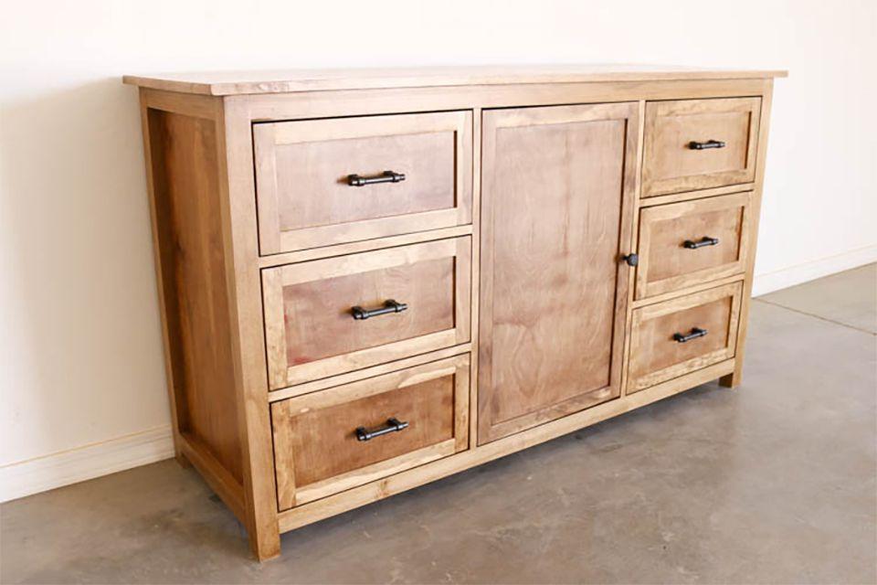 16 free diy dresser plans you can build