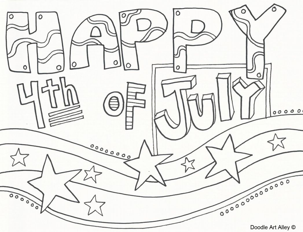 257 Free Printable 4th Of July Coloring Pages