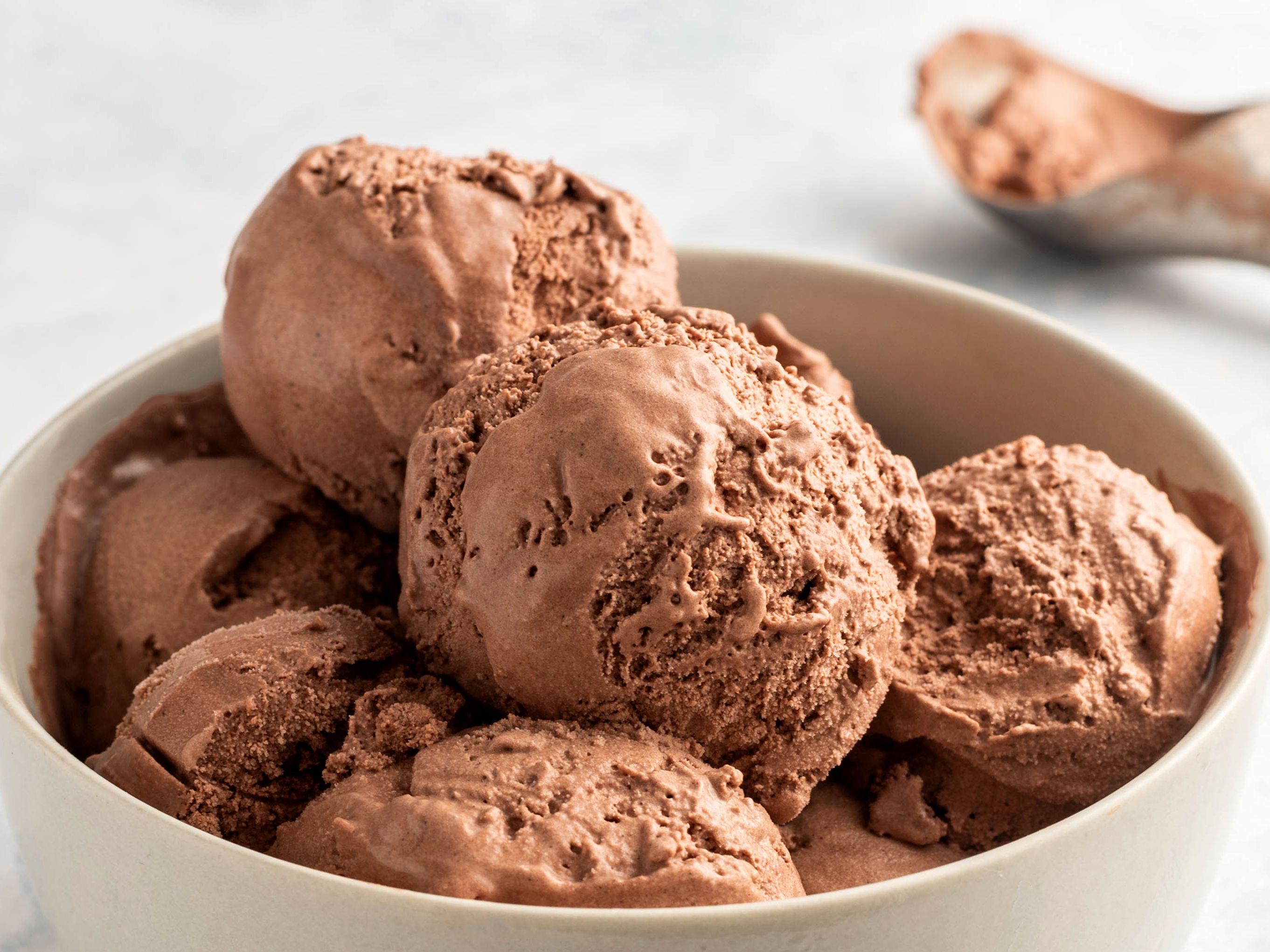 Easy No Cook Homemade Chocolate Ice Cream Recipe