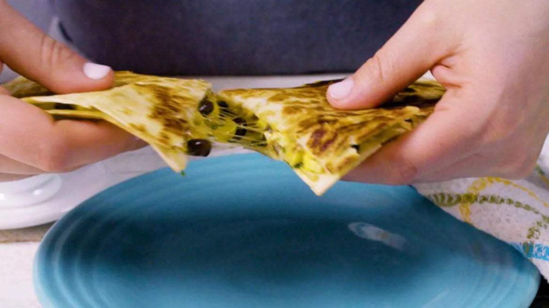 Make-Ahead Frozen Breakfast Quesadillas