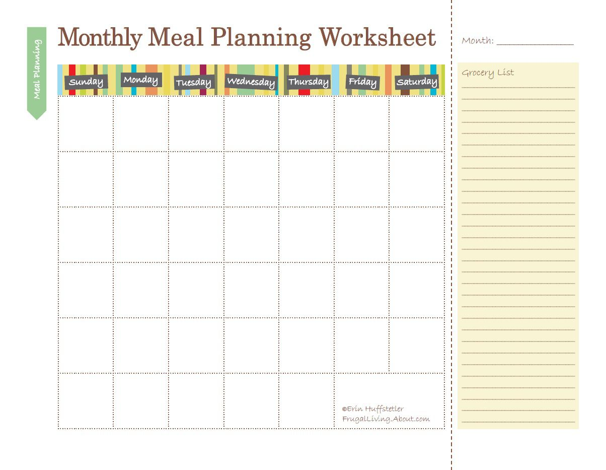 Use Food Planners To Save Money