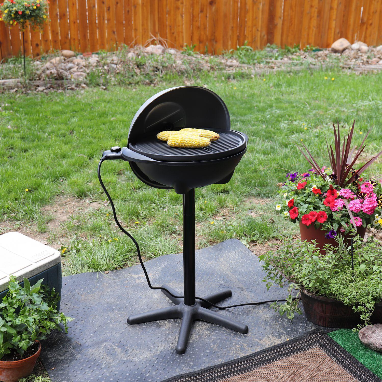 15 serving indoor outdoor electric grill