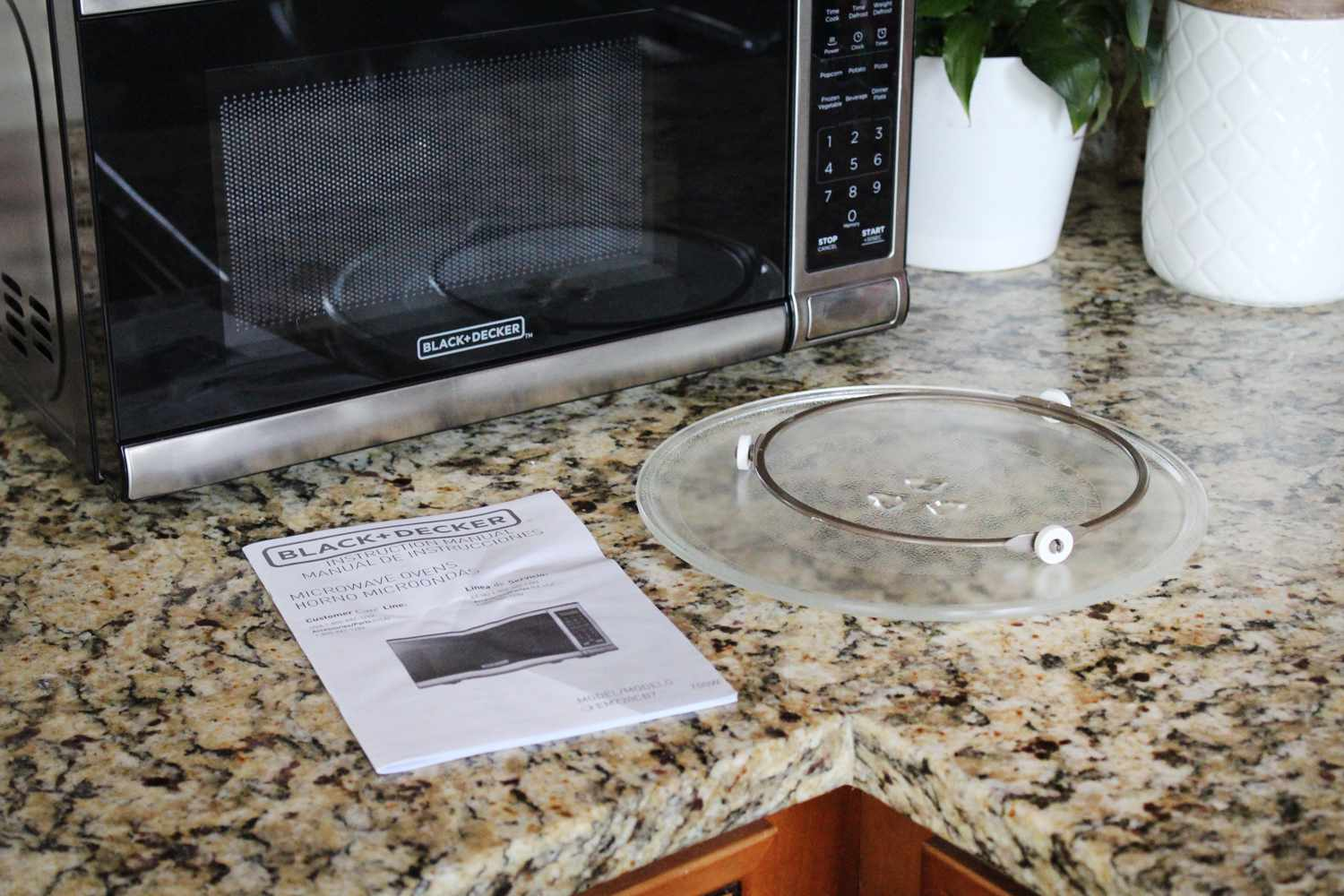 black decker microwave oven review