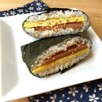 SPAM and Egg Breakfast Onigirazu