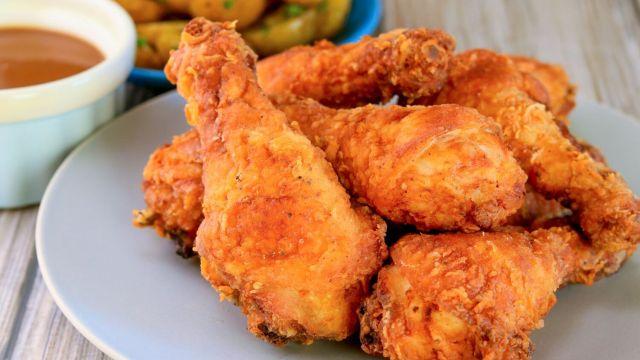 Crispy Fried Chicken Drumsticks