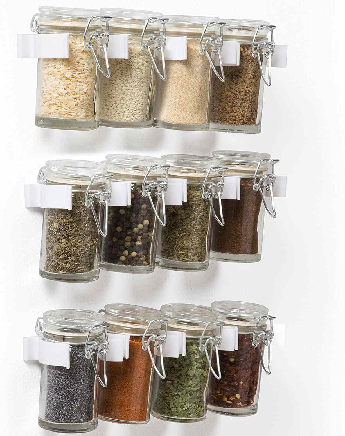 best magnetic spice racks and jars