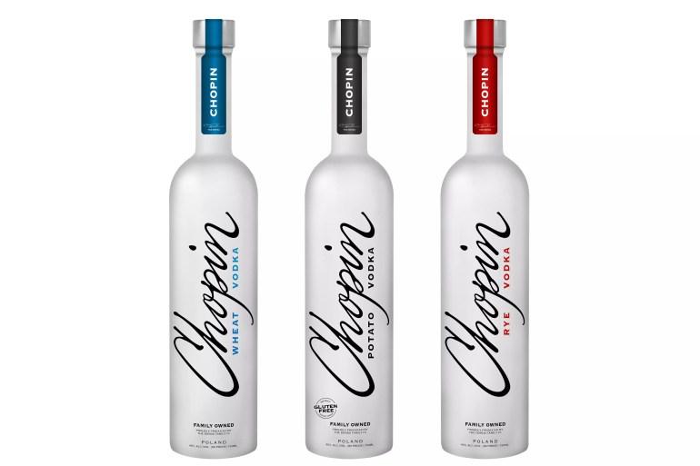 Chopin Vodka Portfolio