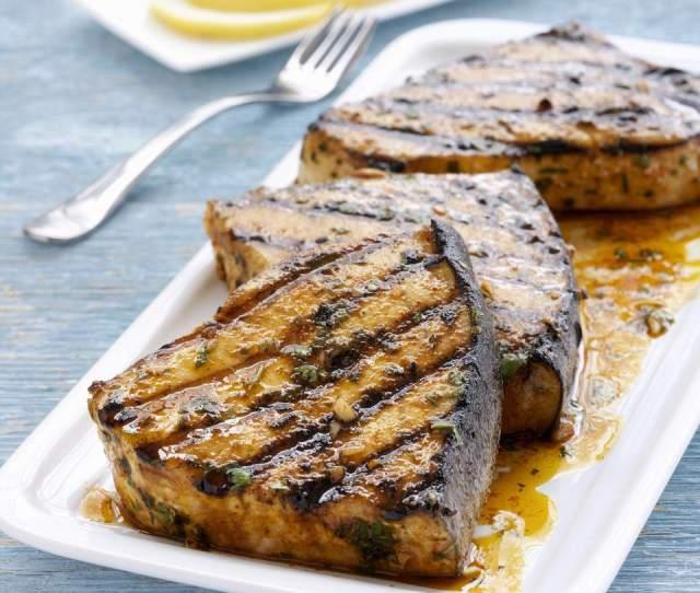 Grilled Swordfish Steak Recipe