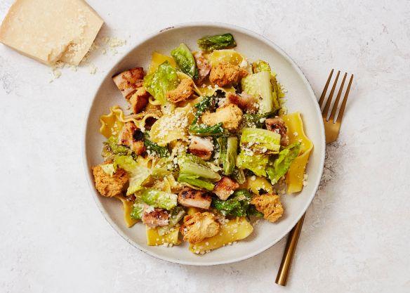 Grilled Chicken Caesar Pasta Salad Recipe