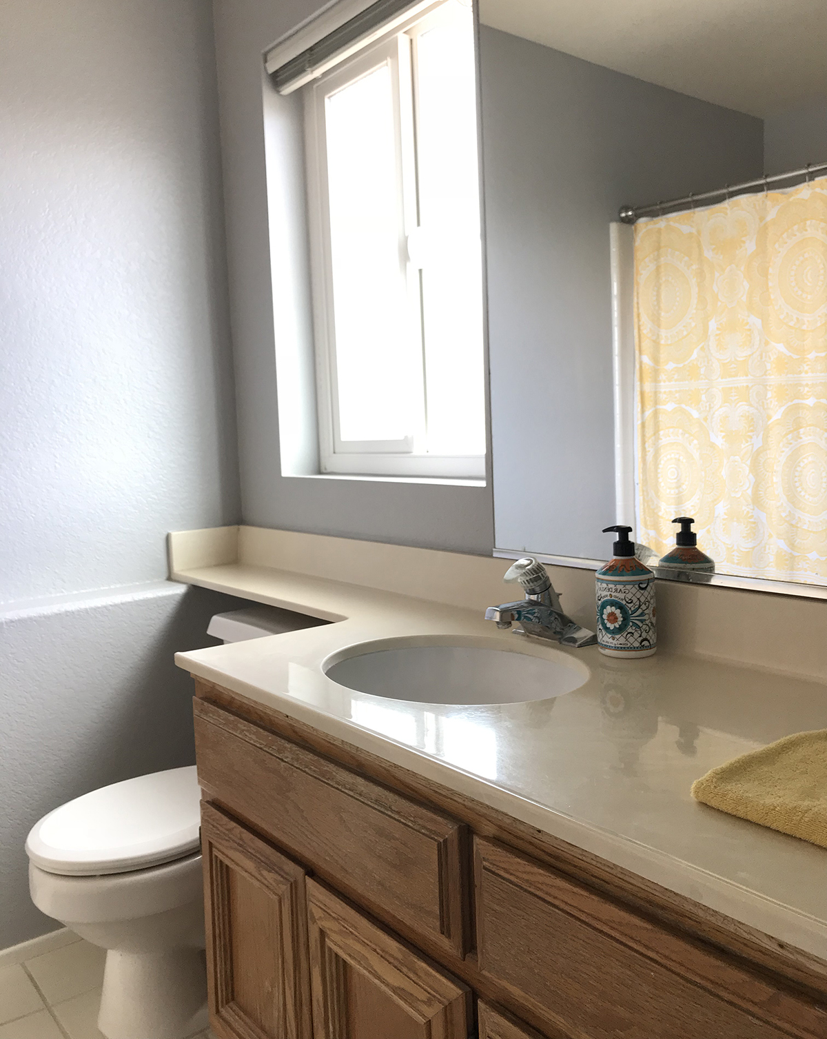 half bathroom renovation - the spunky coconut