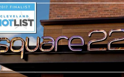 Square 22 Named Finalist in 2017 Cleveland Hot List