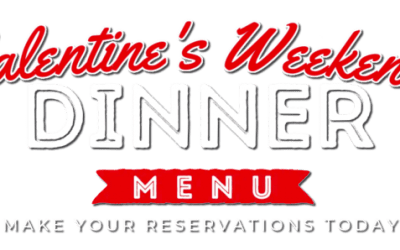 Valentine's Day Menu & Gift Card Special