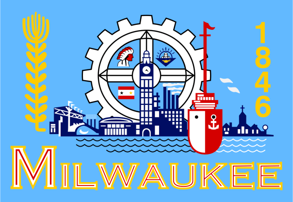 Flag of Milwaukee, WI