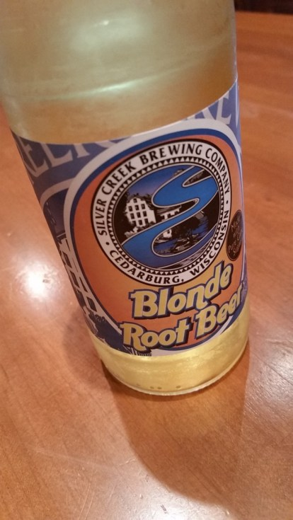 Blonde Root Beer. Available in 4-packs.
