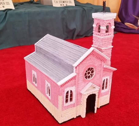 Diorama of Our Lady of Pompeii Church at Festa Italiana.