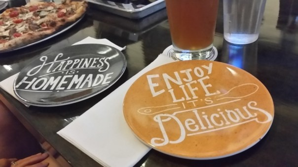 I don't often let plates tell me what to do, but I made an exception.
