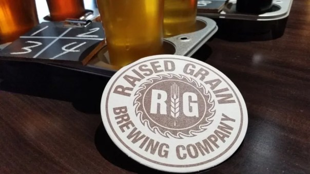 Raised Grain Brewing Company. All photos by Joe Powell.