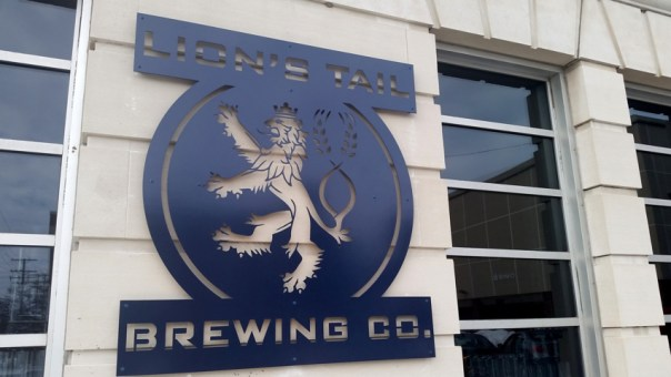 Lion's Tail Brewing Company in Neenah, WI. All photos by Joe Powell.